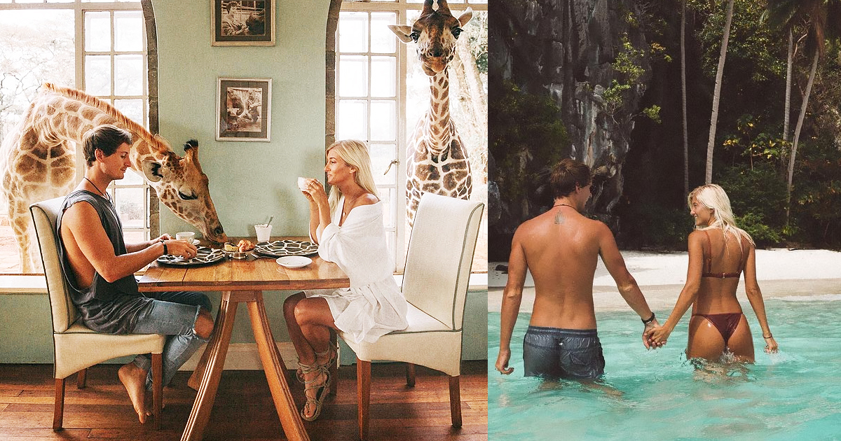 Instagram Couple Make Up To $9K Per Photo While Documenting Their Travels And Here's How