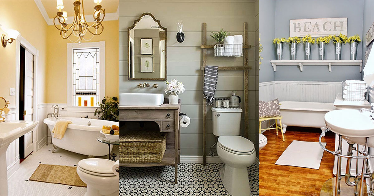 32 Tasteful Design Ideas for Every Small Bathroom