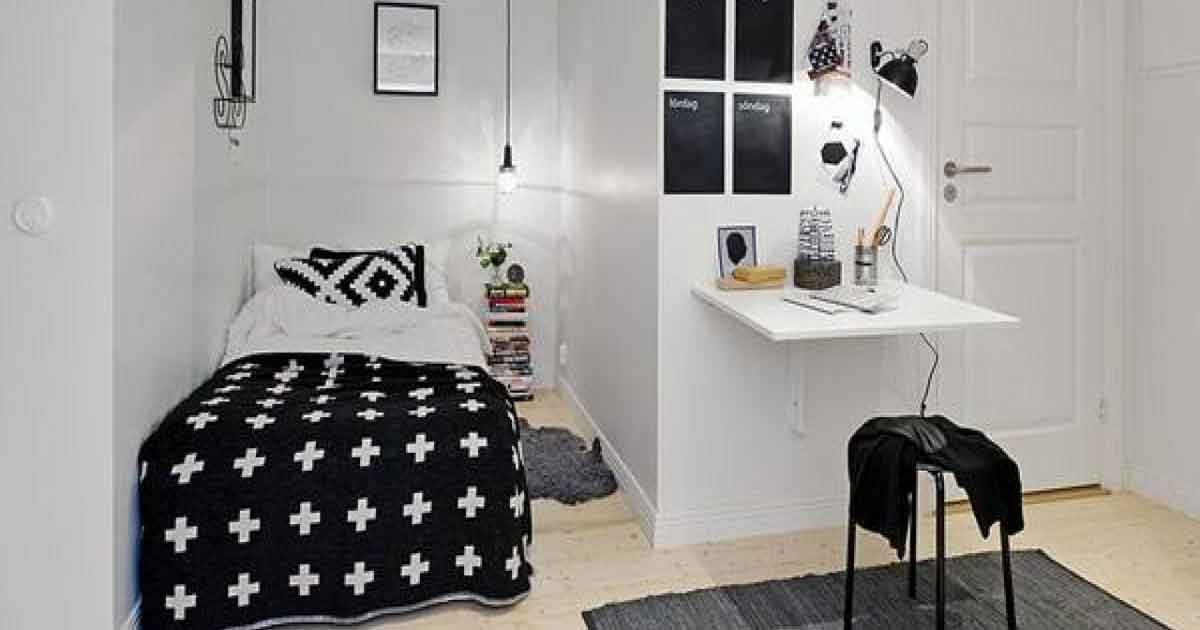 40 Small Bedroom Design Concepts To Help Make Your Home Appear Bigger