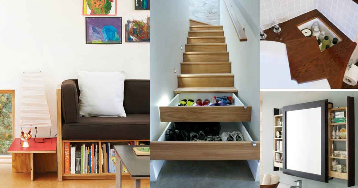 10 Storage Hack Ideas For Small Homes