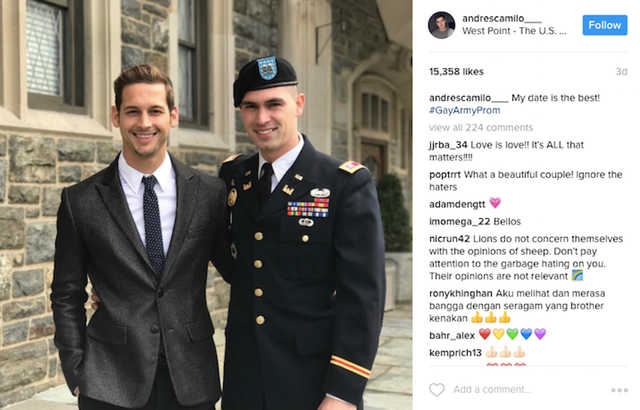 gay military Dating